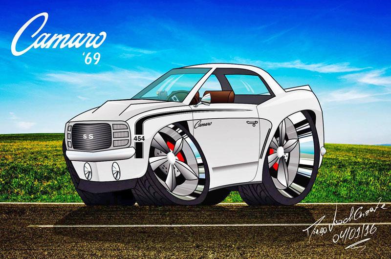 Camaro-69-vetorizado
